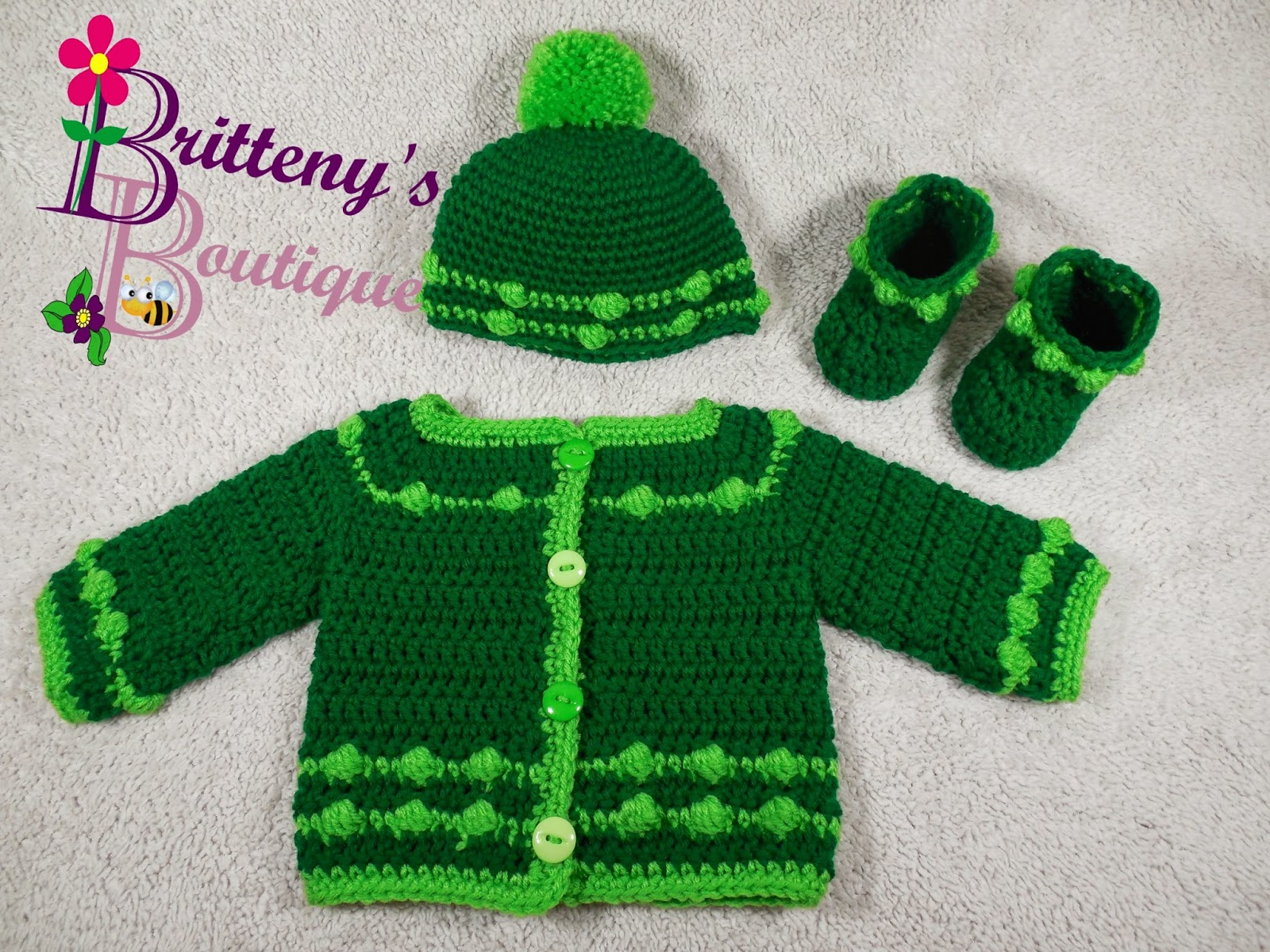 Britteny Off the HOOK!!: Baby\'s Bouncing Ball Sweater, Hat, and ...