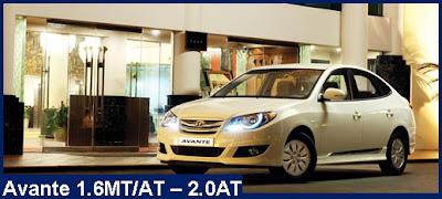Bán xe Hyundai Avante-1.6MT-AT-2.0AT