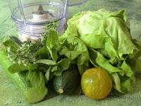Gaspacho vert au piment d'Espelette sans gluten et sans lactose