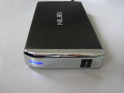 Nilox Hdisk S3 - box per hard disk esterni - frontale