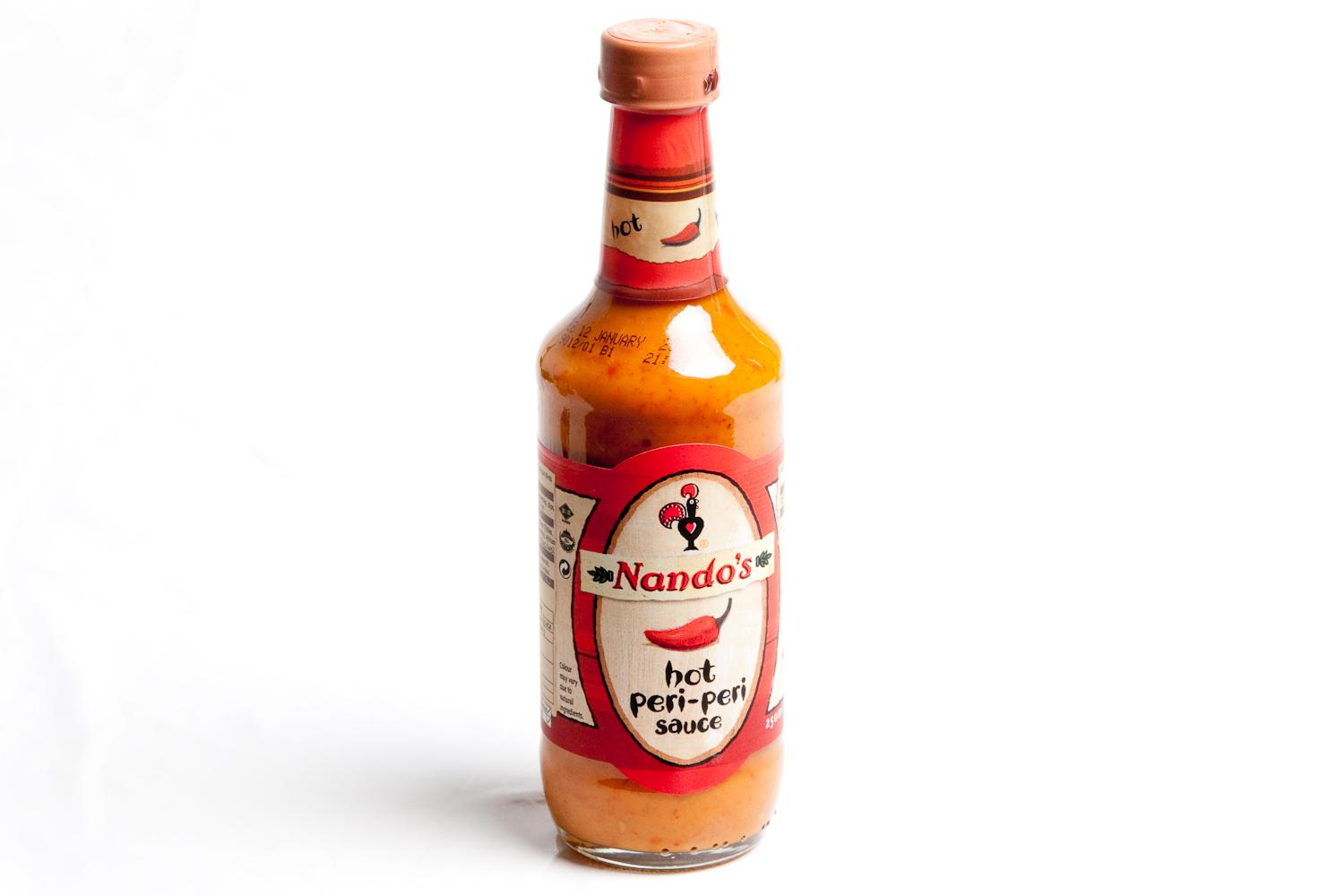 spoons of Nando's Hot sauce