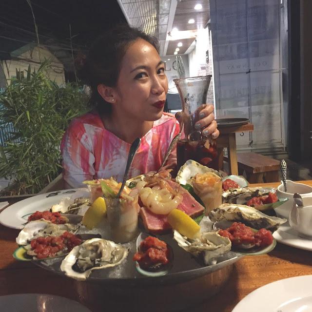 Los Indios Bravos Boracay Seafood Platter