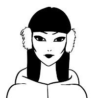 чёрно-белые картинки для авы