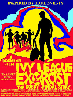 Ivy league exorcist jindal movie poster
