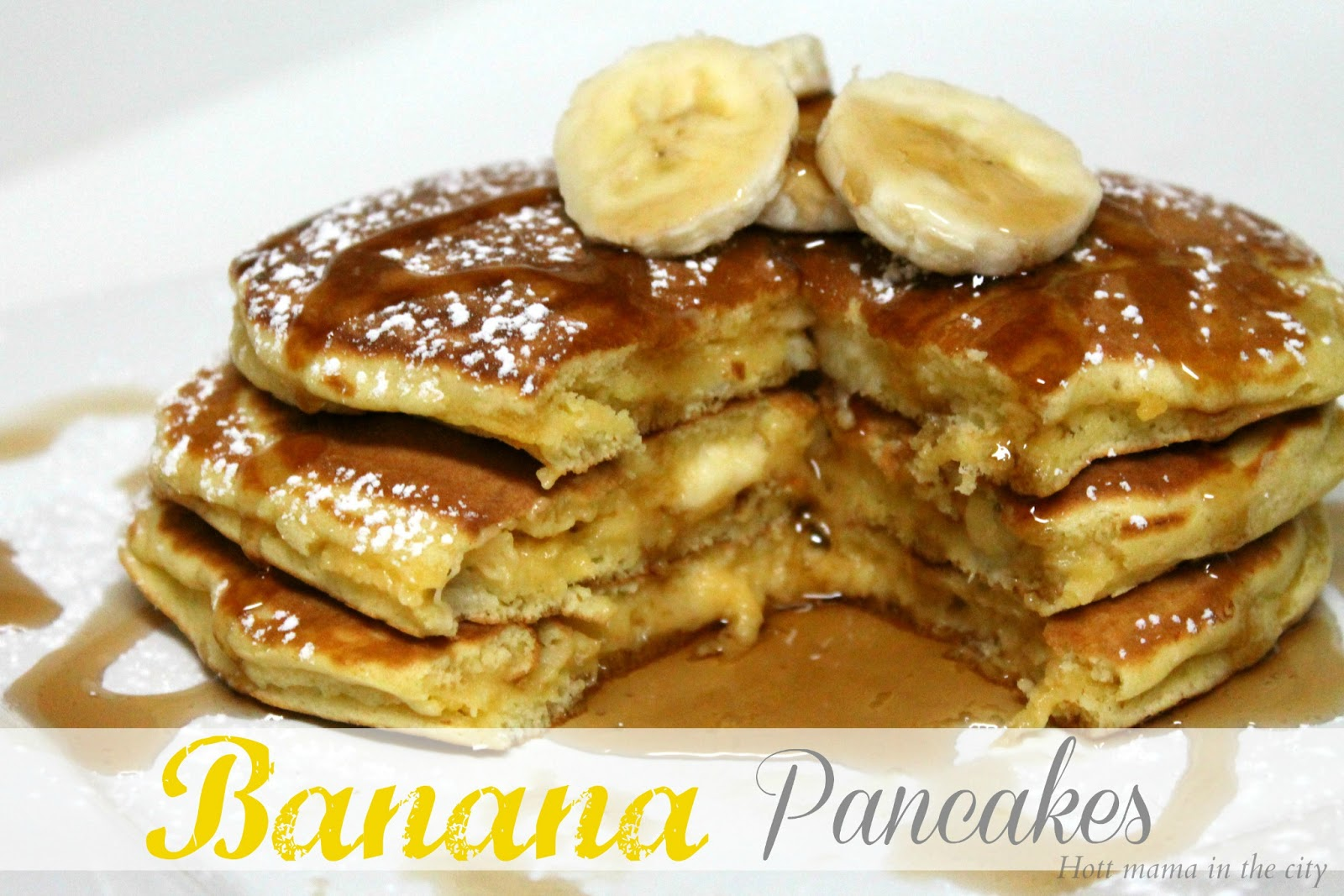 Banana Pancakes Recipe | San Antonio Latina Mom Blogger
