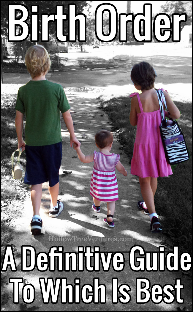 The ultimate guide to which spot is BEST in birth order - oldest, middle, youngest or only! @RobynHTV