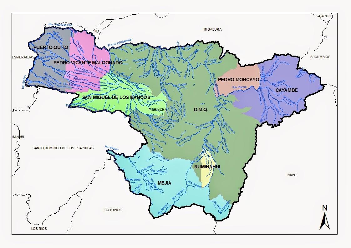 mapa de pichincha
