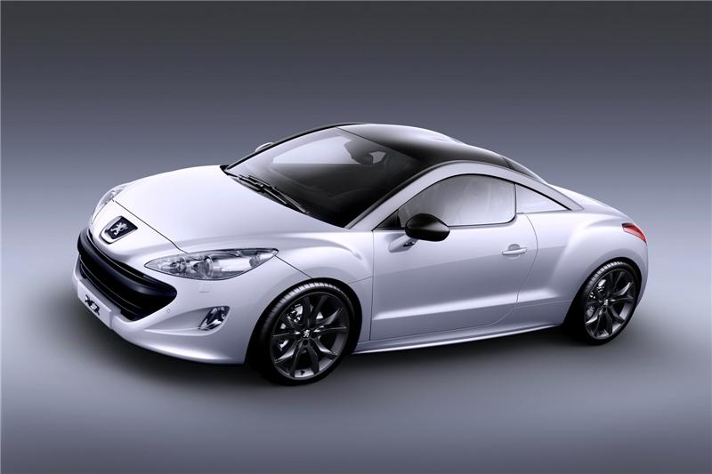 Car Sow: Sport Couple RCZ Peugeot LUXURY Car Image