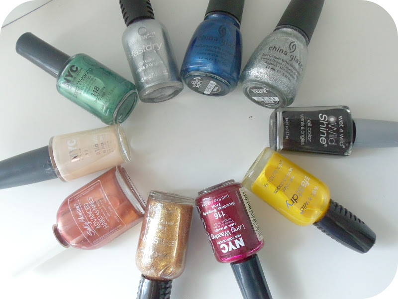 Easy Hogwarts Nail Design A Thing Of Beauty