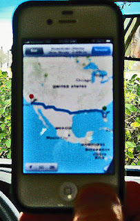 photo: Apple iPhone Siri telling me to drive 2,500 miles to California when Disney is only 5 miles away from our Orlando FL hotel.