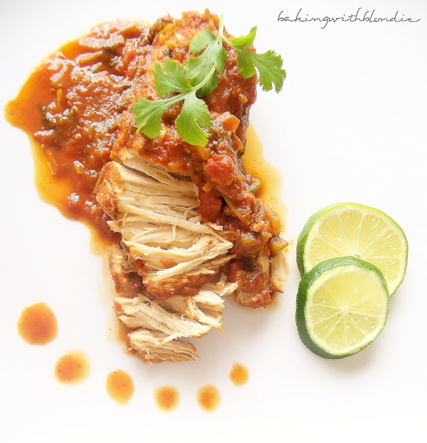 Baking with Blondie : Slow Cooker Cilantro Lime Chicken