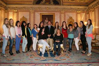 ZUMBA en Segovia - alcaldesa y damas Ferias y Fiestas Segovia 2013