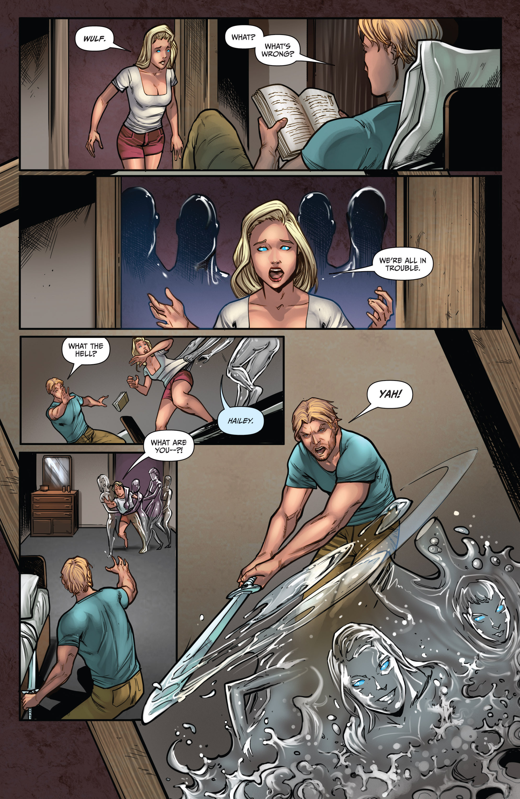 Grimm Fairy Tales (2005) Issue #104 #107 - English 6