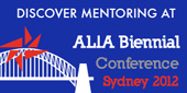 Discover mentoring at ALIA Biennial
