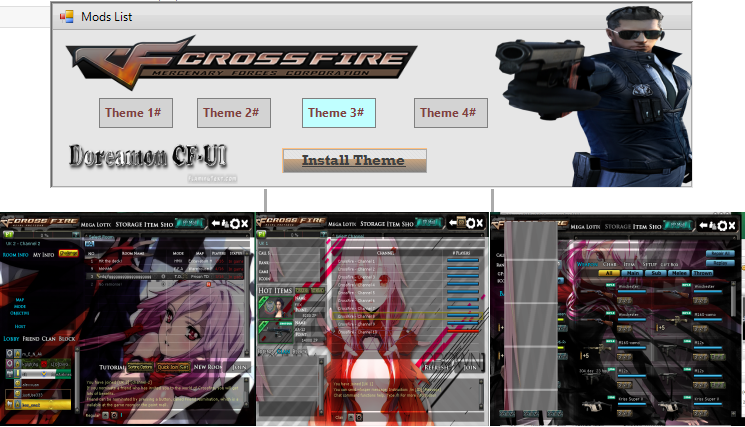 i will show you how to create crossfire