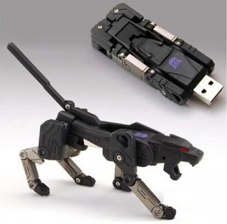 Transformer usb creative pen drive
