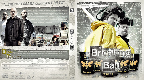 Capa Bluray Breaking Bad T03 The Complete Third Season