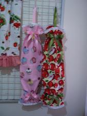 sweet plastik bag holder pelbagai corak