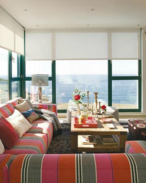 casa com vista para praia