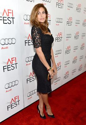 Eva Mendes Holy Motor Premiere at 2012 AFI Fest