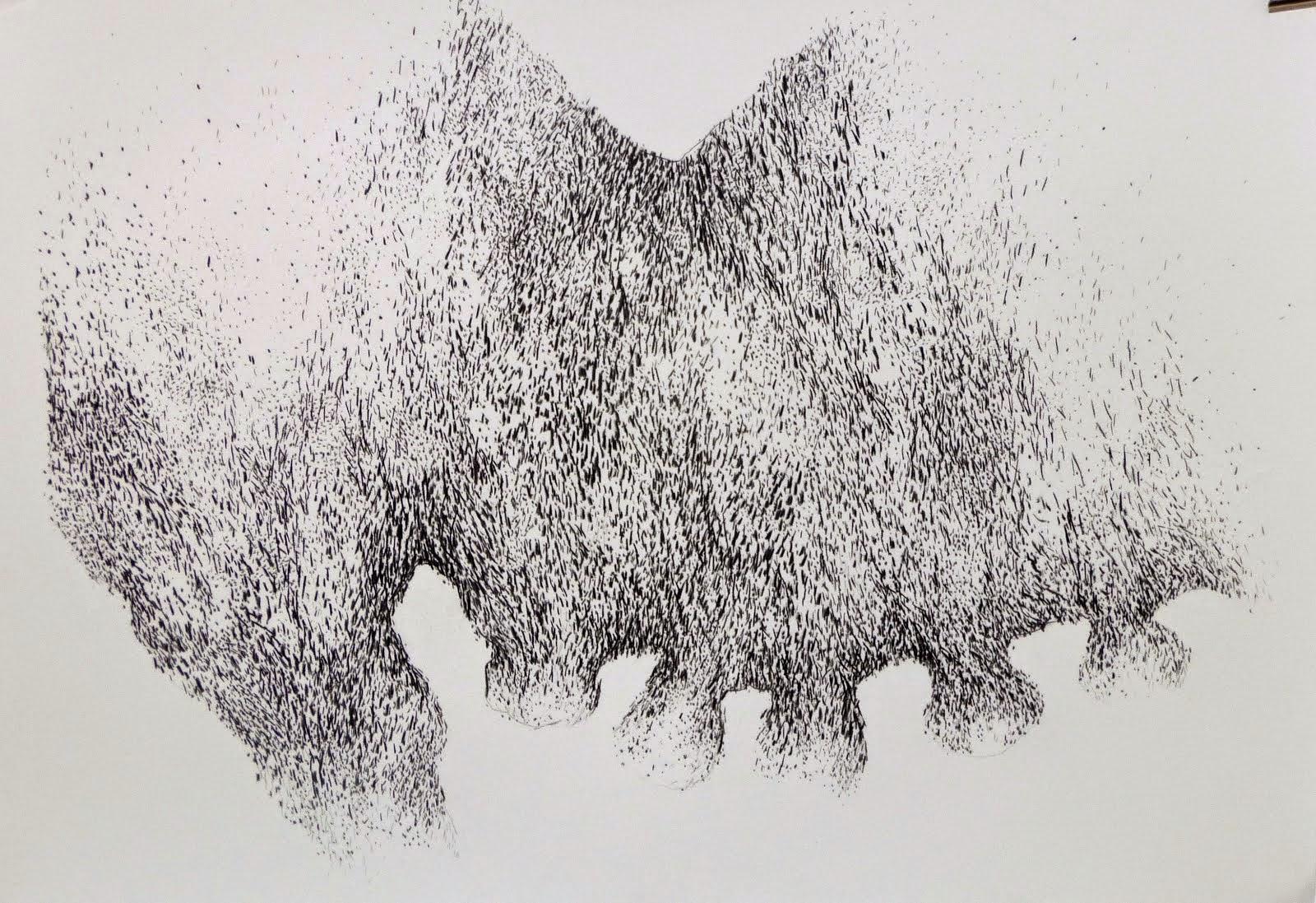 Fusain/papier 70x100 2014
