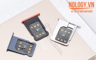 Nhận biết iphone 6 lock bằng sim ghép