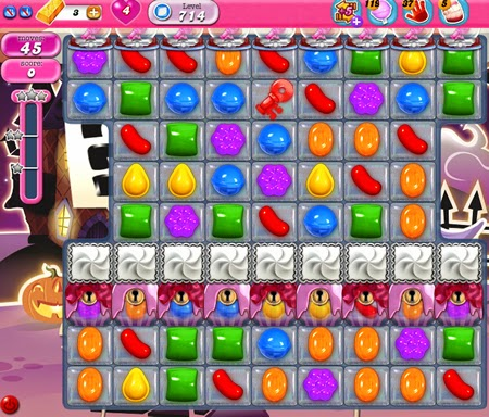 Candy Crush Saga 714