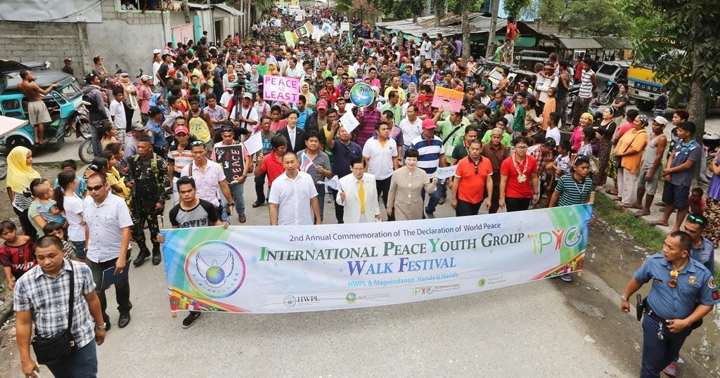 Hwpl The Strong Peace Wind Hwpl 525 Ipyg Peace Walk In Mindanao