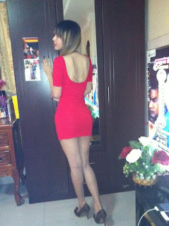 Votey Teav Khmer Girl Sexy Red Robe 11