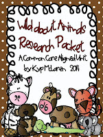 https://www.teacherspayteachers.com/Product/Wild-About-Animals-Common-Core-Research-Pack-1168625