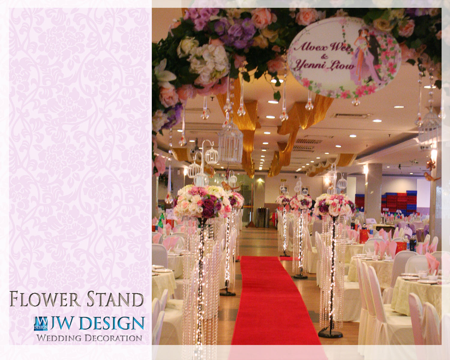 Wedding hall decoration klang jw design wedding decoration at wedding hall decoration klang wedding decoration at restaurant v garden klang junglespirit Gallery