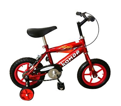 Những chú ý cần đọc khi để bé tập đi xe đạp hai bánh