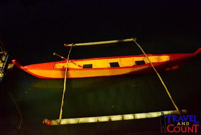 Boat at iwahig Tour Palawan