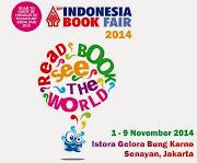 INDONESIA BOOK FAIR 2014, JAKARTA 1-9 NOVEMBER 2014