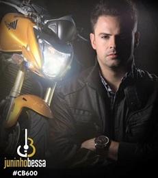 Juninho Bessa lança hit com CB 600