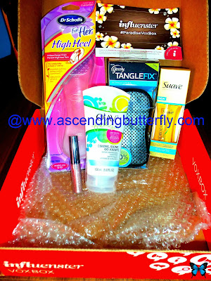 Influenster, #ParadiseVoxBox, Influenster Paradise Vox Box, Beauty, Haircare, Feet, Footcare, Lifestyle Blogger, Product Review
