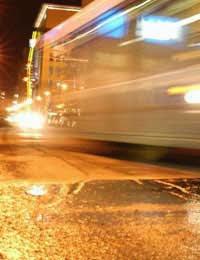 Foto dengan shutter speed lambat
