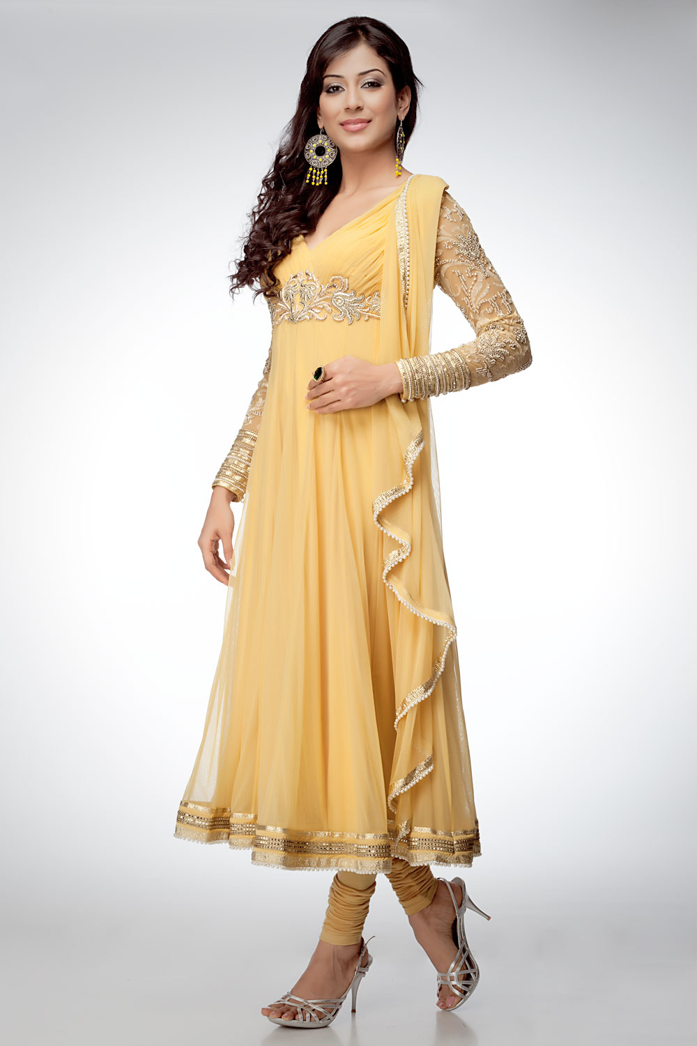 latest fashion new anarkali frocks designs 2012designer
