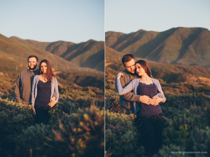 carmel-beach-engagement-photos