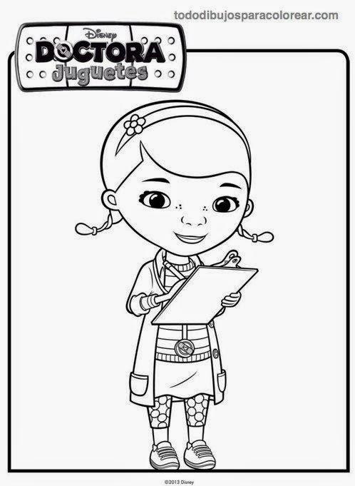 Dibujos para colorear. Maestra de Infantil y Primaria.: Doctora ...