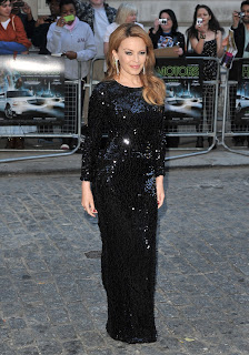 Kylie Minogue at Holy Motors premiere in London