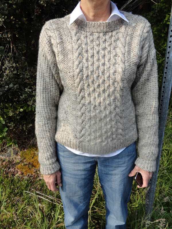 What To Knit When Youre Expecting Aran Sweaters In 90 Degrees