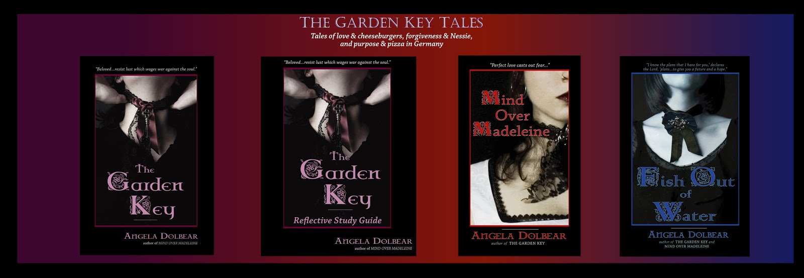 The Garden Key Tales by Angela Dolbear