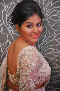 Anjali latest Glamorous pics in saree 002