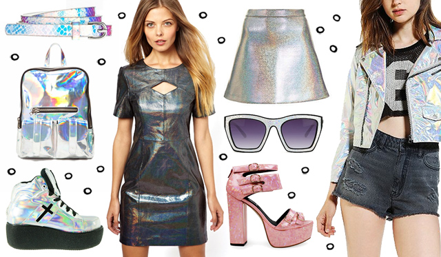 hologram fashion, hologram, holographic, unif