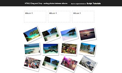 Album Photo HTML5