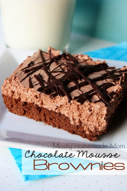 Chocolate Brownie Mousse Recipe — Dishmaps