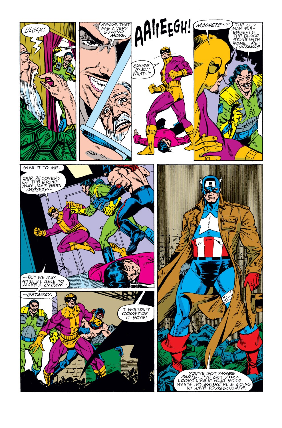 Captain America (1968) Issue #362 #295 - English 8