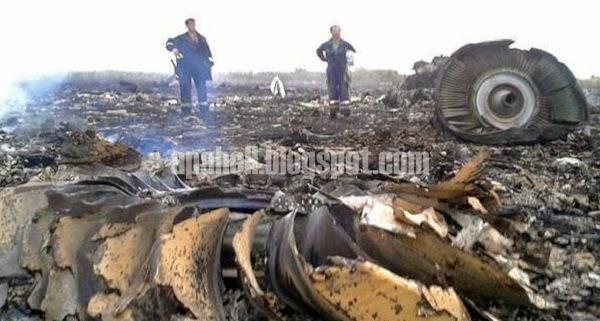 Berikut adalah gambar terkini nahas yang meragut ratusan nyawa penumpang pesawat MH17.