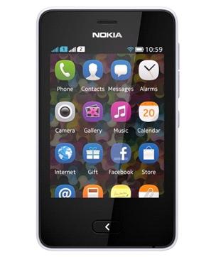 Nokia Asha 501 Blanco